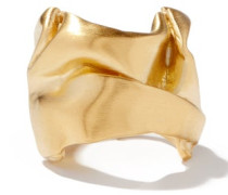Crushed 14kt Gold-vermeil Ring
