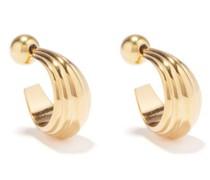 Blondeau 18kt Gold-vermeil Hoop Earrings