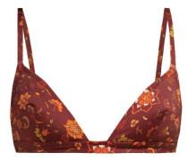Rachelle Floral-print Triangle Bikini Top