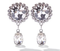 Crystal-embellished Pendant Earrings