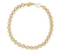 Duet Baroque-pearl & Gold-plated Necklace