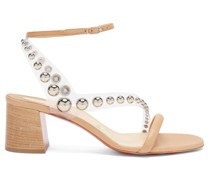 Corinne 55 Pvc-strap Leather Sandals