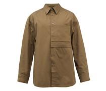 Oversized Cotton-poplin Shirt