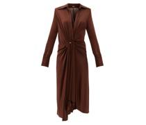 Lorenne V-neck Jersey Dress