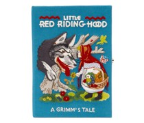 Little Red Riding Hood Embroidered Book Clutch