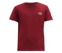 Raymond Logo-embroidered Cotton-jersey T-shirt