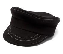 Trojan Brushed-wool Bakerboy Cap