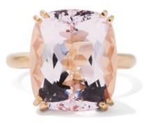 Gemmy Gem Morganite & 18kt Rose-gold Ring