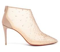 Constella 85 Crystal-embellished Mesh Boots