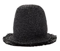 Sixty Frayed Straw Bucket Hat