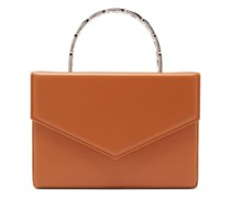 Pernille Envelope-flap Leather Box Bag