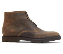 Forge Waxed-suede Desert Boots