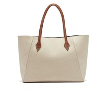 Perriand Collapsible Linen-canvas Tote Bag