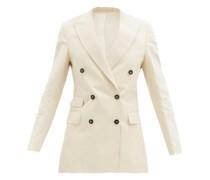 Manon Striped Cotton-blend Jacket