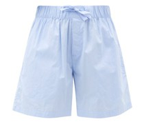 Organic-cotton Pyjama Shorts