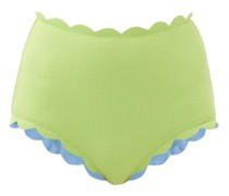 Santa Monica Scalloped-edged Bikini Briefs