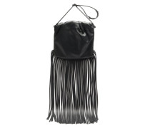 The Fringe Pouch Leather Cross-body Bag