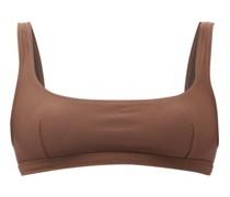 The Nineties Scoop-neck Bikini Top