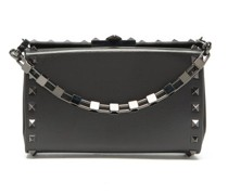 Alcove Rockstud Leather Cross-body Bag