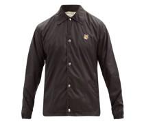 Bertil Fox Head-patch Shell Coach Jacket