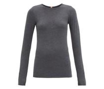 Restore Cotton-blend Long-sleeve T-shirt