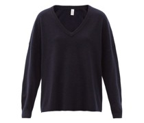 No.161 Clac V-neck Stretch-cashmere Sweater