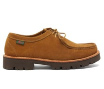 Ranger Wallace Lace-up Suede Derby Shoes