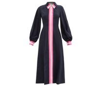 Kabru Stripe-trim Crepe Midi Dress