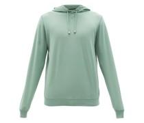 Cotton-piqué Hooded Sweatshirt