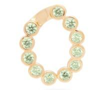 Crystal-pavé Gold-plated Earring Charm