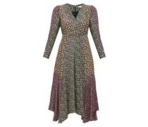 Louise Floral-print Georgette Midi Dress
