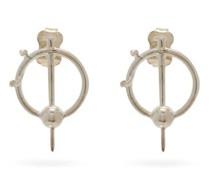 Mod Sterling-silver Earrings