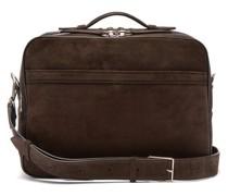 Wanderer Suede Messenger Bag