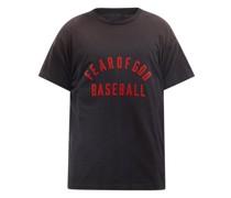 Baseball Logo-print Cotton-jersey T-shirt
