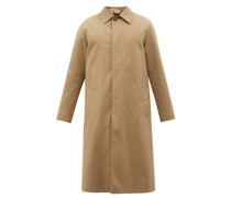 Albert Cotton-gabardine Overcoat