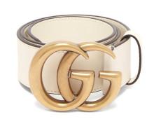 Gg-logo Leather Belt