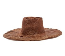 Norma Crinkled Woven Hat