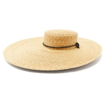 Roundabout Wide-brimmed Straw Hat
