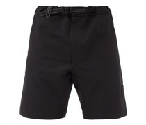 Belted Technical Shorts