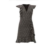 Ruffled Bouclé Mini Dress