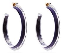 Jelly Medium 14kt Gold-plated Hoop Earrings