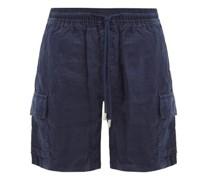 Baie Drawstring Linen Shorts