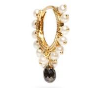 Coronet Eternity Diamond & 18kt Gold Earring