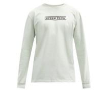Steep Tech Cotton-jersey Long-sleeved T-shirt