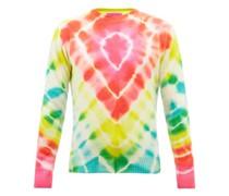 Burst Tie-dyed Cashmere Sweater