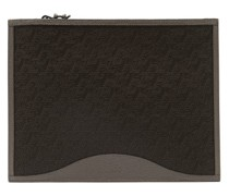 Pifpouch Grained-leather Zip Pouch