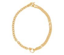 Double-chain Gold-vermeil Necklace