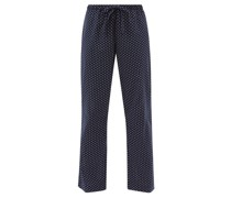 Nelson 79 Floral-print Cotton Lounge Trousers