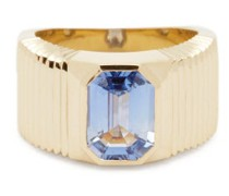 Sapphire & 14kt Gold Ring