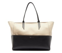 Incognito Small Cabas And Leather Tote Bag